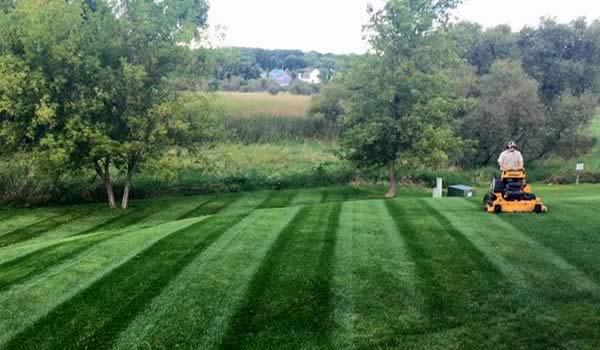 Lawn Mowing Service by Advance Lawn Service Company, Hartford WI