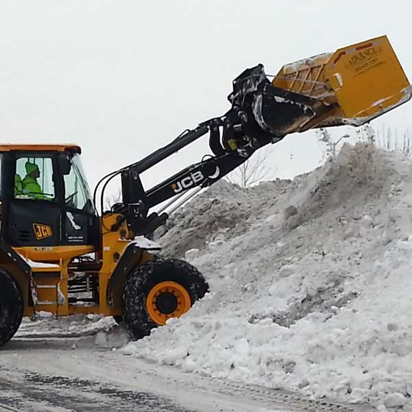 Snow Removal - Advance Lawn Service Company