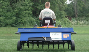 Additional Lawn Services-Aerating by Advance Lawn Service Company