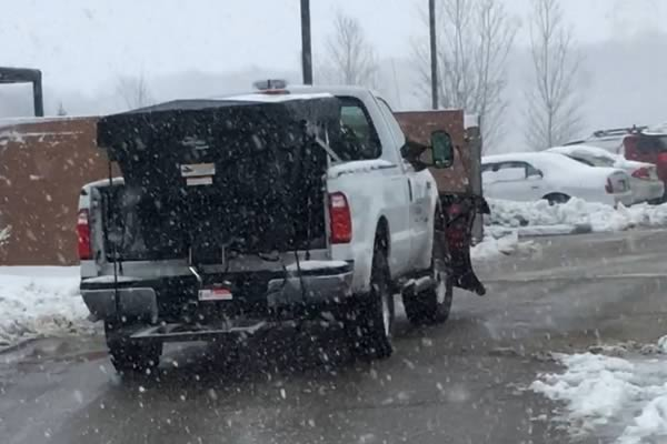 Commercial Snow Plowing by Advance Lawn Services in Hartford WI