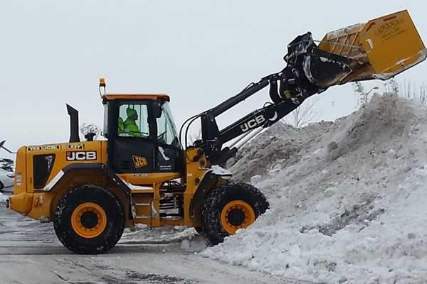 Snow Removal Services - Advance Lawn Service Company