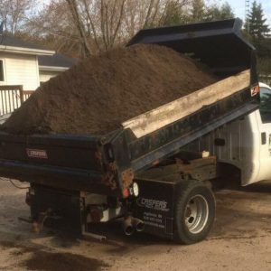 Screened and Blended Topsoil